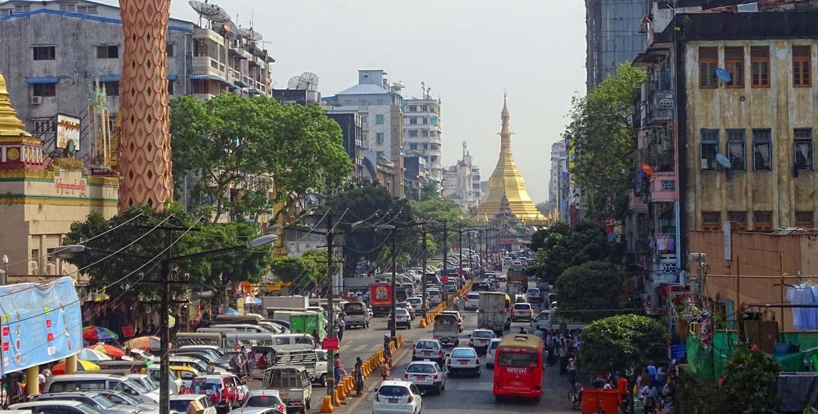 Hotel Rangoon En Centre Ville