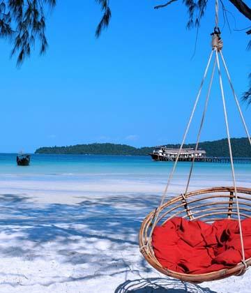 Voyage au Cambodge, Temples d'angkor et plages